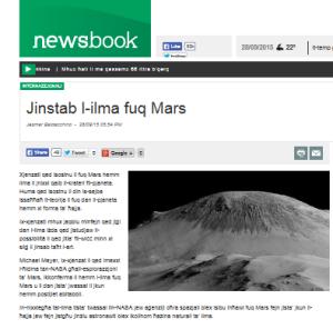 ilma fuq Mars.newsbook