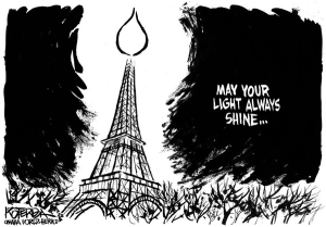 Eiffel lights the way